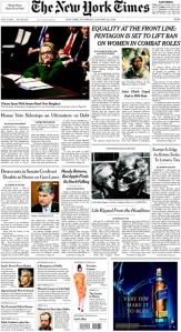 nytimes hillary cover
